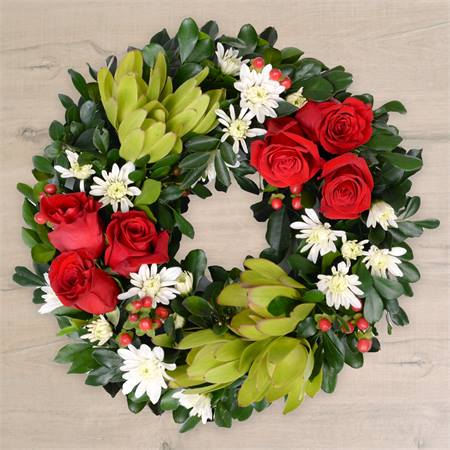 Christmas Joy Wreath