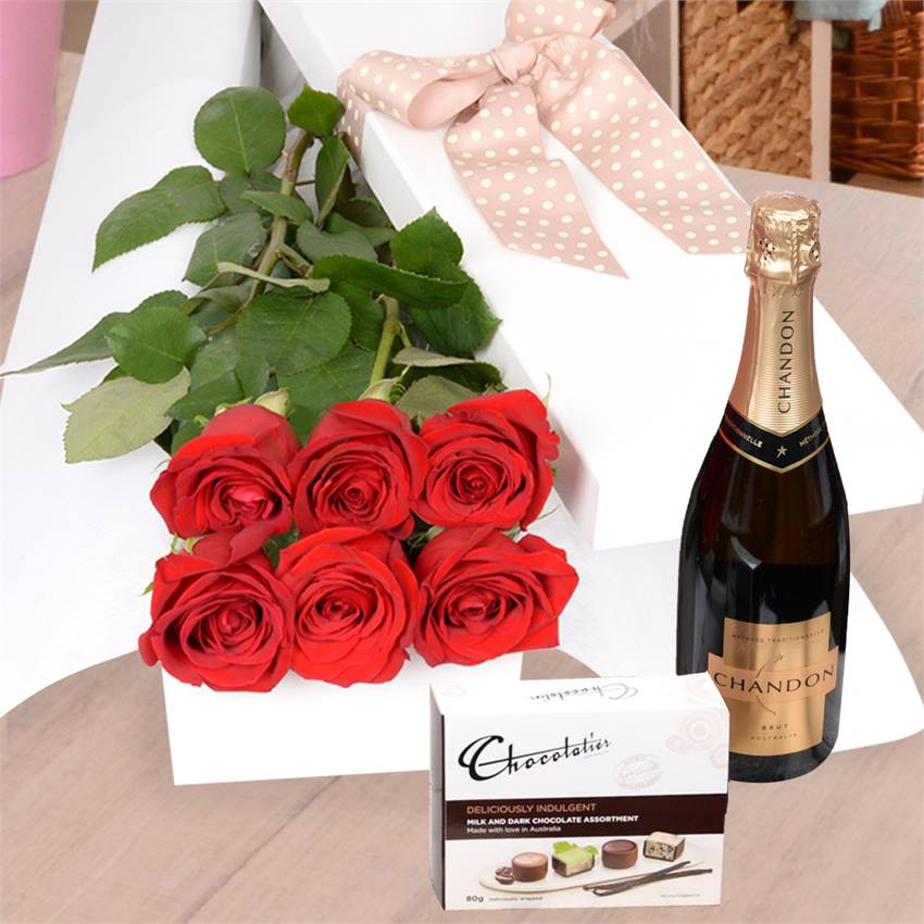 Valentine's Day Relish with Chocs & Chandon